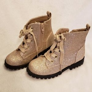 Cat & Jack | Toddler Glitter Ankle Boots | NEW